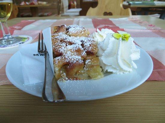 Pension Restaurant Rosmarie: strudel