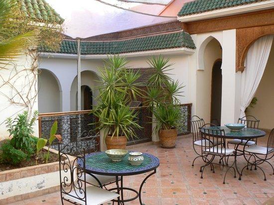 Riad Daria: Vue terrasse