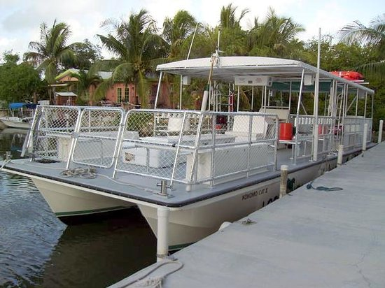 Looe Key Reef Resort: Our Kokomo Cat II offers 2 daily snorkel/dive dives!