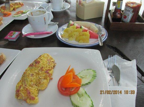 Lamai Inn 99: breakfast