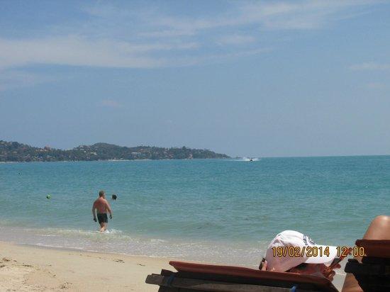 Lamai Inn 99 : hard to believe its the same beach..
