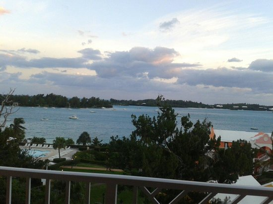 Grotto Bay Beach Resort & Spa: View from room 521