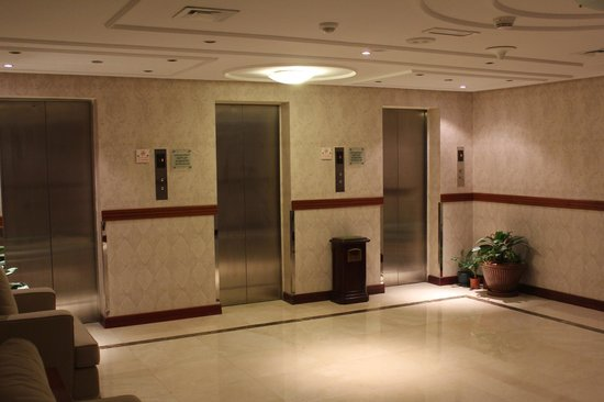 Cassells Al Barsha Hotel Dubai : Лифтовой холл