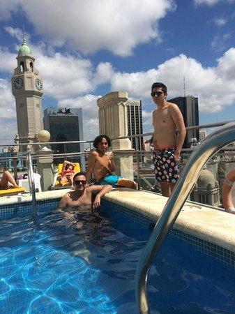 NH Buenos Aires City: Vista desde la piscina