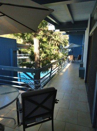 Highland Gardens Hotel: terrasse