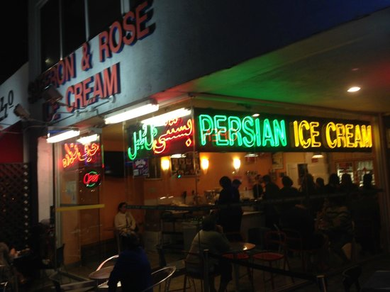 Photo of Persian Restaurant Saffron and Rose Ice Cream Shop at 1387 Westwood Blvd, Los Angeles, CA 90024, United States