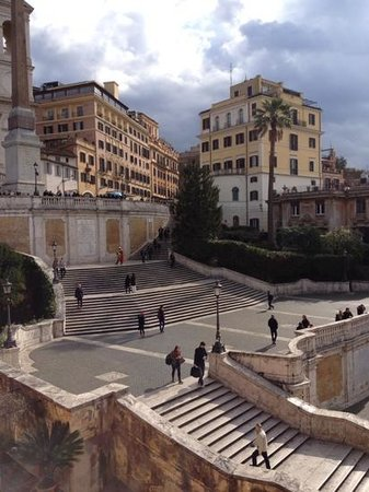 Piazza di Spagna View: Room with an awesome view