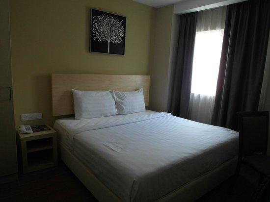 Metro Hotel KL Sentral: standard room