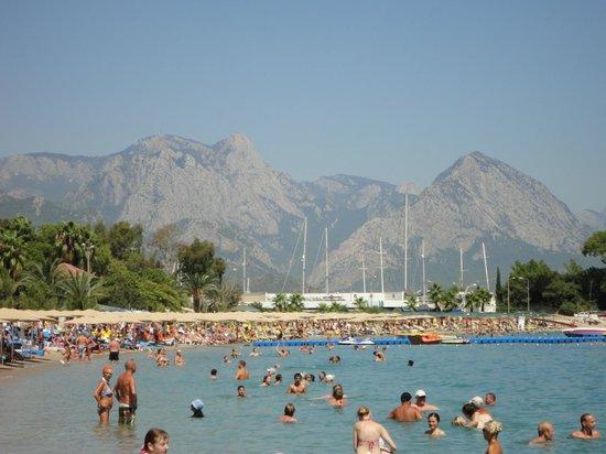 Himeros Club Hotel : Пляж