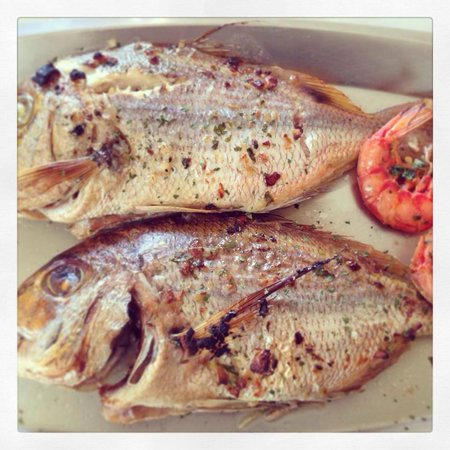 Hunters Tower: Grilled Red Snapper