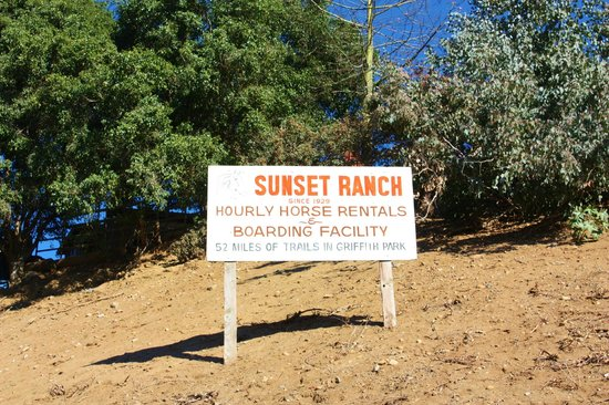 Highland Gardens Hotel: Le Sunset ranch, pas loin (en voiture)