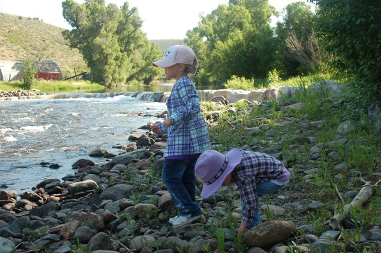 Focus Ranch: Throwing Rocks in the River