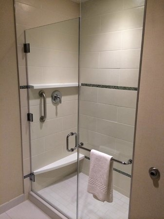 Courtyard Philadelphia South at The Navy Yard: Fantastic shower