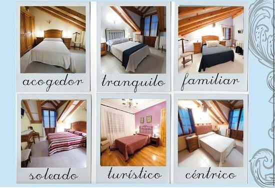 Posada Rural La Cabaña de Salmón: Dormitorios