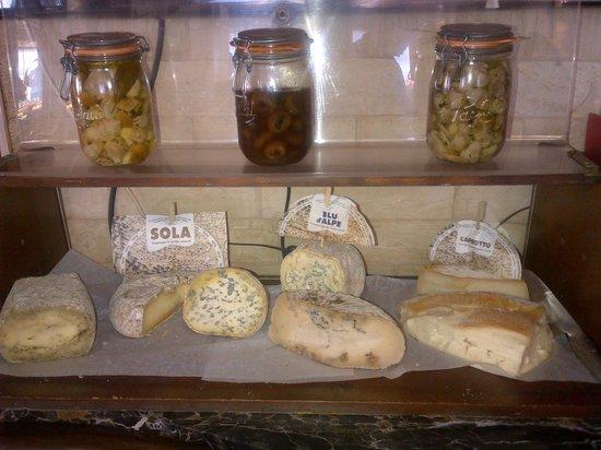 La Bergerie : Nos fromages du Piémont.