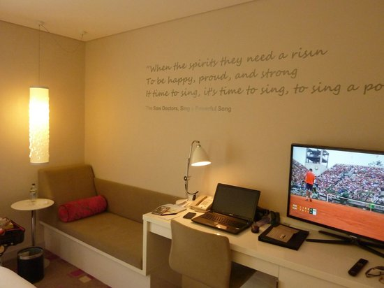 The Morrison, a DoubleTree by Hilton Hotel : a little nook for reading...