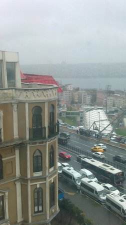 Rixos Pera Istanbul: View from the room (5th floor)