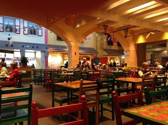 Disney S Caribbean Beach Resort Inside The Food Hall