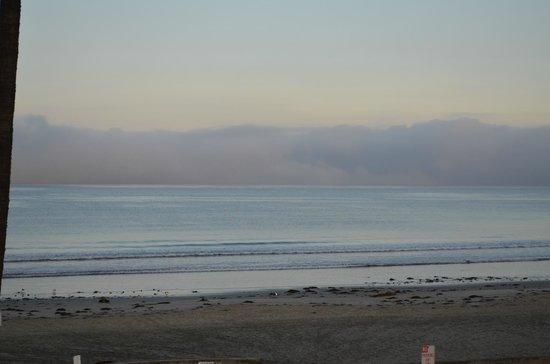 View from beach near La Jolla Shores Hotel
