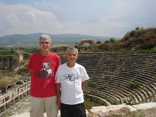 Aphrodisias and the ruins of its Greek amphitheater