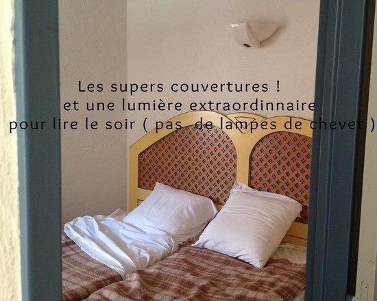 Hôtel-Résidence Les Vallées : les couvertures vintage