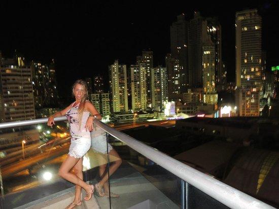 Hard Rock Hotel Panama Megapolis : VISTA DESDE LA PILETA