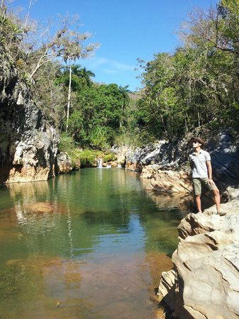Casa OsmaryAlberto: Waterfall horse trip, perfect for swimming!