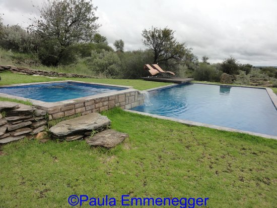 N/a'an ku se Lodge and Wildlife Sanctuary : The pool