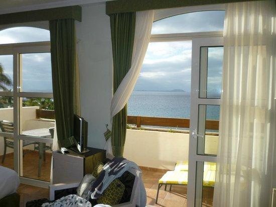 H10 Rubicon Palace: vistas a isla de lobos (habitacion privilege)