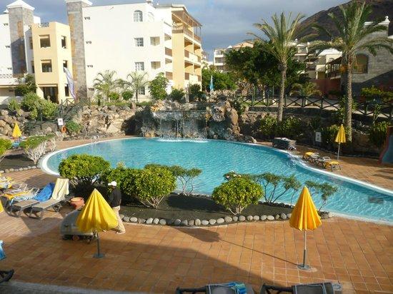 H10 Rubicon Palace: piscina semi privada bajo la habitacion