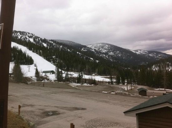 Whitefish Mountain Resort: Behind the Lodge 2