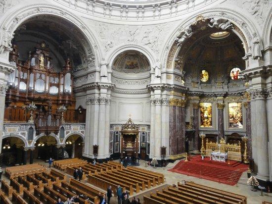 Berlin Cathedral: интерьер собора