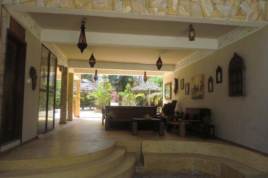 Seasons Lodge Zanzibar: Hoteleingang