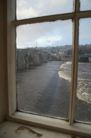 The Anchor Restaurant: View of Bridge and river from corner seat