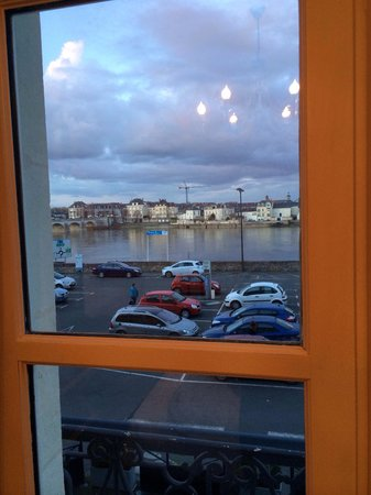Cristal Hôtel : Вид из окна