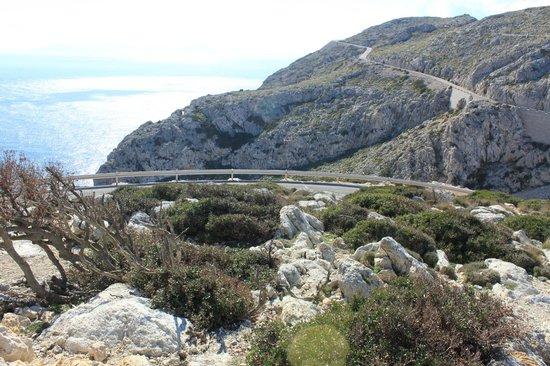 Cap de Formentor: View from lighthouse