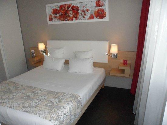 Appart'City Confort Montpellier Millénaire : chambre double