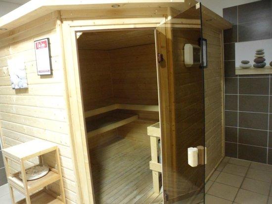 Appart'City Confort Montpellier Millénaire : sauna