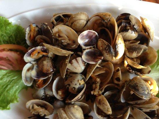 Restaurante Tierra Mar: Clams