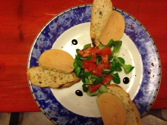 Restaurant La Movida : foie gras maison.