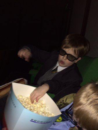 Showcase Cinema Walsall: 3d glasses £1.50 a pop on top, rip off