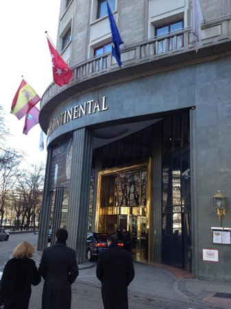 InterContinental Madrid : entrance