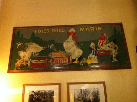 Comptoir de La Gastronomie : Painel