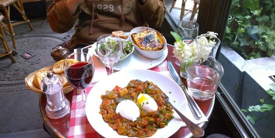 Louise Cafe: The mentioned ratatouille