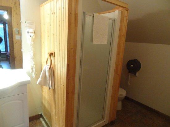 Auberge Refuge du Trappeur: Bathroom