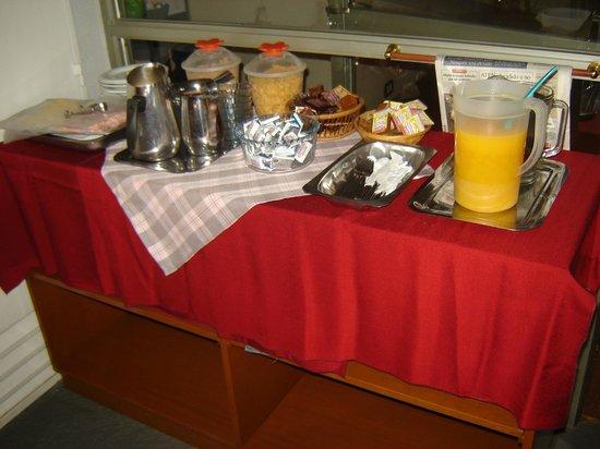 Hotel Huemul: Desayuno