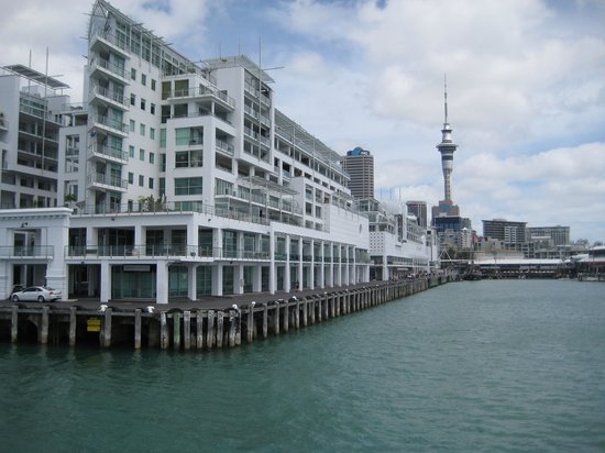Auckland Waterfront Serviced Apartments: From the water