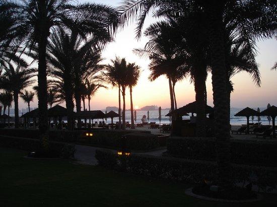 Jumeirah Dar Al Masyaf at Madinat Jumeirah: Unforgettable sunset at Dar Al Masyaf at Madinat Jumeirah beach in Dubai