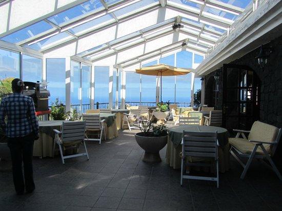 Hotel La Palma Romantica: Conservatery