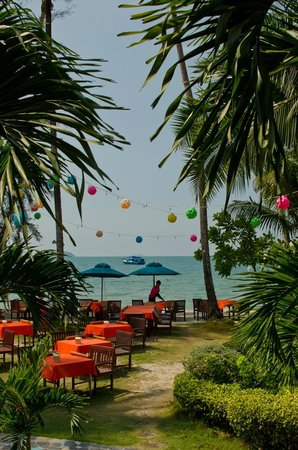 Koh Chang Paradise Resort & Spa : Restaurant